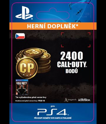 Call of Duty: Black Ops 3 - 2.000 (+400 Bonus) Points