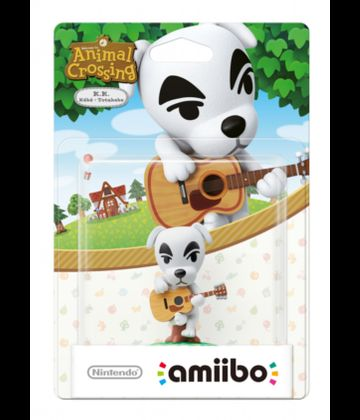 Figúrka Amiibo Animal Crossing K.K.