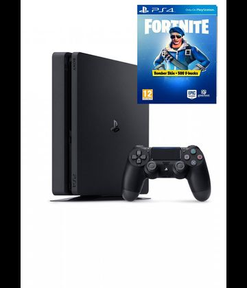 PlayStation 4 Slim Konzola 500 GB + Fortnite Bundle Pack