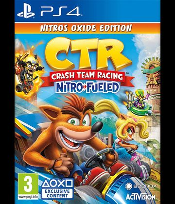 Crash Team Racing Nitro-Fueled Races Nitros Oxide Edition
