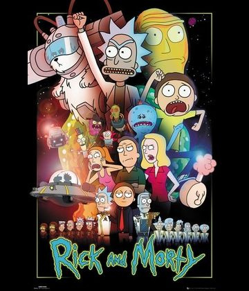 Plagát (50b) Rick and Morty - Warst