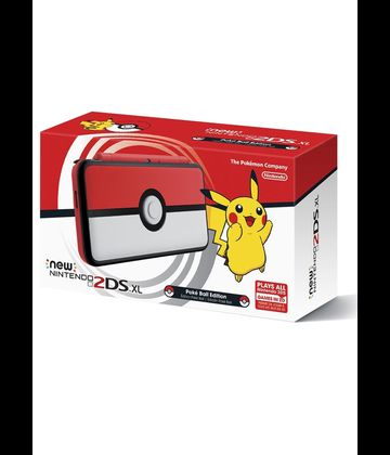 Konzola NEW Nintendo 2DS XL Pokéball Edition