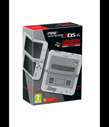 Konzole NEW Nintendo 3DS XL SNES Edition